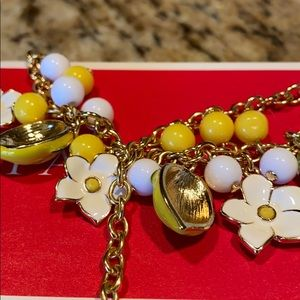 Talbots lemon necklace
